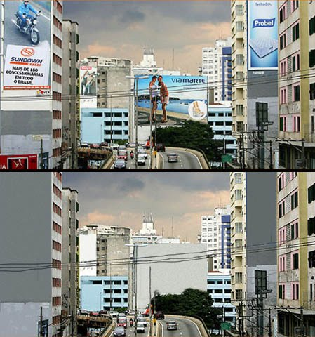 Sao Paulo before and after